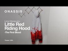 Little Red Riding Hood - The First Blood, by Lena Kitsopoulou First Blood, Red Riding Hood, Little Red, The One, Theater, Foundation, Youtube, Theatres, Foundation Series