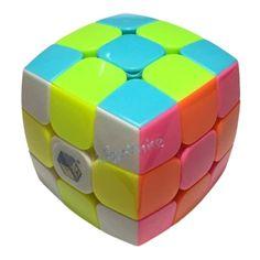 Zhisheng(Yuxin) Kylin 3x3x3 Bread Cube Pillowed Cube Stickerless Speed Puzzle
