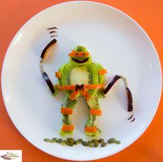 Cute food ideas Ninja Turtle
