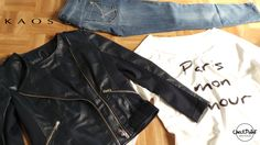 NEW COLLECTION SPRING 2014  Maglietta COLETTE Giacca e jeans KAOS
