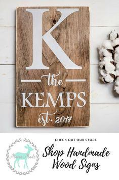 Established Wood Sign - Established Family Sign - Wedding Decor - Wedding Gift - Wedding Idea- Rustic Wood Sign - Farmhouse Wedding