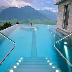Heavenly. Hotel Villa Honegg. Ennetbürgen, Switzerland. Photography by @sennarelax