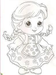 Resultado De Imagem Para Desenho Para Pintar Da Baby Alive
