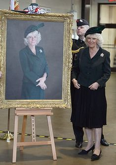 Royal portraits: Camilla, Duchess of Cornwall portrait