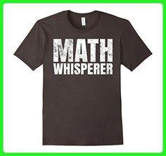 Mens Math Whisperer T-Shirt Medium Asphalt - Math science and geek shirts (*Amazon Partner-Link)