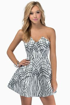 Keepsake Three Dimensions Dress