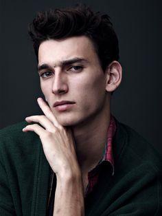 Vogue Hommes International Models: Spring/Summer 2014 Thibaud Charon