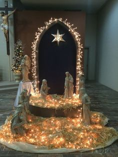 Pasitos Altar Decorations Church Christmas Decorations Christmas Nativity Scene Christmas Makes Christmas Villages Christmas Service Christmas 2017 Merry Christmas Christmas Crafts Christmas Service, Old Christmas, Christmas Makes, Outdoor Christmas, Christmas Crafts, Christmas Ornaments, Christmas 2017, Snowman Crafts, Diy Christmas Nativity Scene