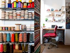 Ray Stitch fabric and supplies shop in London