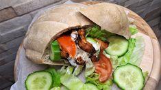 Szénhidrátcsökkentett házi pita recept - Salátagyár Pita, Hamburger, Sandwiches, Tacos, Mexican, Wellness, Chicken, Ethnic Recipes, Food