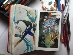 Kenneth Rocafort - Sketchbook #WilliamHannahUK #sketchbook #drawing #drawn #sketch #drawingaday #artist #illustration #illustrator #art www.williamhannah.com