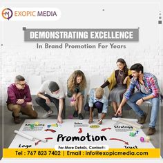 We have a carved a niche for ourselves in the marketing industry. Our proven track record of excellence in Web Technology, Content, Design, Analytics, etc. makes us the top marketing and advertising company in India. Call us: 7678237402 #excellence #brandpromotion #ExopicMedia #niche #marketing #marketingindustry #webtechnology #content #design #analytics #marketingcompany #advertisingcompany #advertisingagency #marketingagency #contentmarketing #websitedesign #logodesign #webanalytics