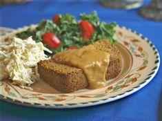 Carrot Pecan Nutroast: a perfect holiday main dish! #vegan #glutenfree #candida @rickiheller