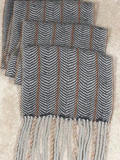 Colonnade Scarf by DaveWhiz .... how gorgeous....One can never have too much scarves, but yes, one can be too thin!!  - Contrary to popular belief!