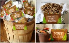 Camping Party favors | Party | Boy Parties