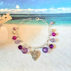 Beautiful Gifts For Her, Amazing Gifts, Great Gifts, Summer Bracelets, Summer Jewelry, Stocking Fillers, Stocking Stuffers, Charm Bracelets, Pearl Bracelet
