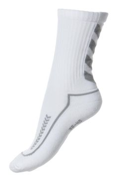 Hummel Advanced Indoor Socken weiss/grau kurz