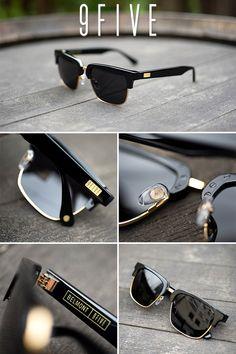 e850fa5a6c11d 9FIVE Belmont Black   24K Gold Sunglasses Stylish Mens Fashion