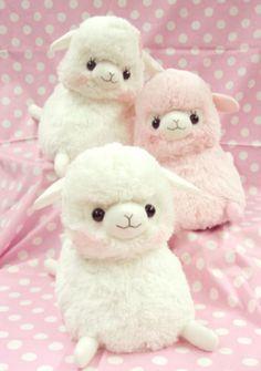 Squishy baby alpaca plushies!!!! :D