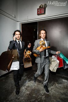 Ylvis... They travel in style!