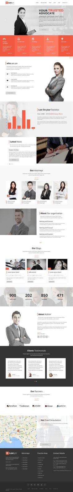Lawyer is modern, clean and professionally crafted #WordPress theme for #Lawyers, Attorneys, #Advocates or Barristers website download now➝ https://themeforest.net/item/eren-responsive-prestashop-theme/16811353?ref=Datasata