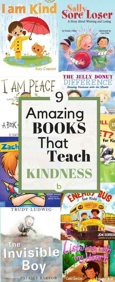 Our picks for the best books that teach kindness to children. These classic, inspirational childrens books for girls and boys encourage empathy, which in turn can spark ideas for kindness activities for kids. Check out our complete list! Kindness For Kids, Books About Kindness, Teaching Kindness, Kindness Activities, Book Activities, Preschool Activities, Toddler Books, Childrens Books, Best Books For Toddlers