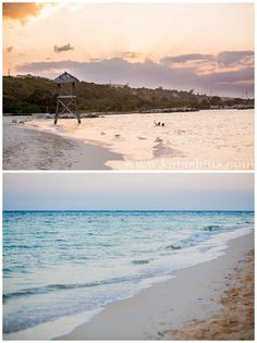 Sunset; Montego Bay Jamaica Destination Wedding at Iberostar Rose Hall Suites - Kate Timbers Photography