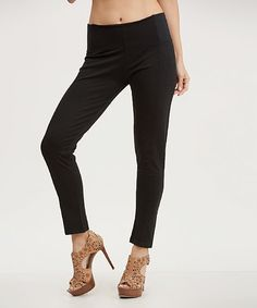 Another great find on #zulily! Black Leggings #zulilyfinds
