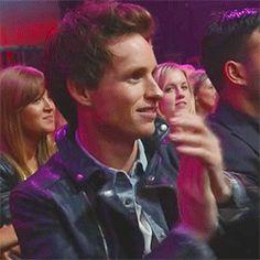 Eddie Redmayne at the MTV Movie Awards 2013