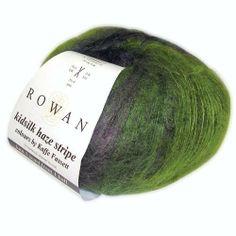 Rowan Kidsilk Haze Stripe, Black Sheep Wools , Black Sheep Wools