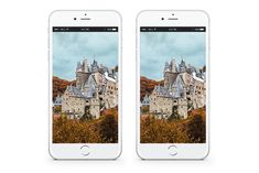 NOVEMBER MOBILE DESKTOP WALLPAPER - CASTLE IN THE FOREST IN THE FALL - FREE DOWNLOADABLE DESKTOP WALLPAPERS FOR NOVEMBER 2019. Foliage goals, pumpkins everywhere, everybody just being super thankful and grateful and the like. Hello November, November 2019, Grateful, Thankful, Desktop Wallpapers, Pumpkins, Castle, Goals, Free