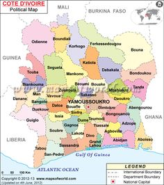 Mapa de #CostadeMarfil