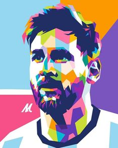 Leonel Messi, Soccer Art, Football Art, Messi Drawing, Messi Poster, Graphic Design Illustration, Illustration Art, Messi And Ronaldo, Cristiano Ronaldo