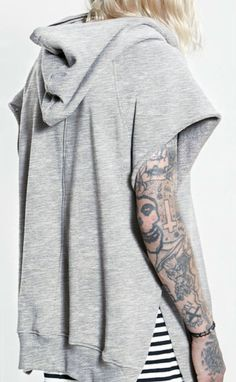 Fear Of God Yeezy Rick Owens French Terry Short Sleeve Half Zip Hoodie