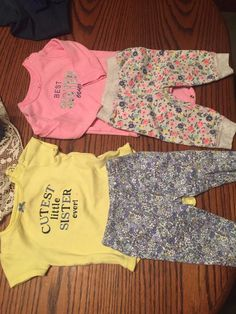 c17ce43f8 Lot Of Six Size 6 Months Baby Girl Outfits Carters #fashion #clothing #shoes