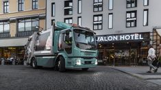 Volvo's First Electric Trucks Delivered To Customers: February 2019 is a turning point for Volvo Trucks,… Electric Truck, Volvo Trucks, Heavy Machinery, Automotive News, Heavy Equipment, Truck Parts, Aga, Vehicles, Turning