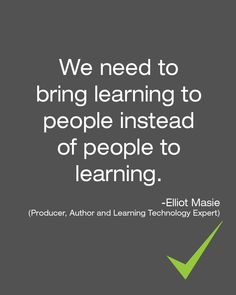 Quote of the day #learning #lifelonglearning #elearning