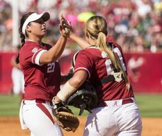 A 2-0 win Saturday afternoon over Oklahoma forced a winner-take-all super regional for the evening. The Crimson Tide will face the Sooners again at 7 p.m. CT for a spot in the Women's College World Series.