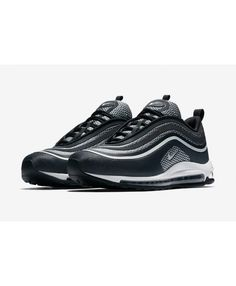 0b62102545229 Nike Air Max 97 Ultra  17 Black White Trainers Online UK