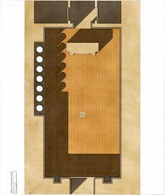 Beniamino Servino. La chiesa dalle 7 colonne, 1996.
