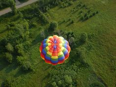 """Too Fun"" below the Libeerty Belle. Kathy's first ride in a Hot Air Balloon."