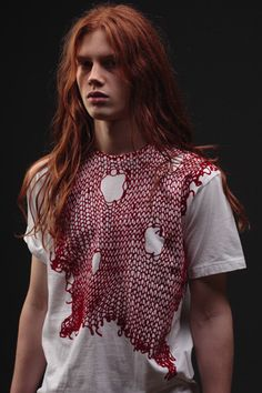 Bartek Borowiec  one of my favorite models  love gingers, long hair, androgyny