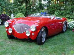 1954 Austin Healey 100/4 Maintenance of old vehicles: the material for new cogs/casters/gears/pads could be cast polyamide which I (Cast polyamide) can produce