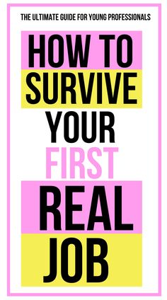 Career advice for young professionals - these helpful tips will help you survive your first real job! Whether you're a new grad nurse or a young professional straight out of college - we've got you covered with help career tips for women! #careeradvice #careertips #newgrad