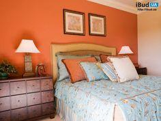Цвет стен в спальне фото, Спальни   iBud.ua