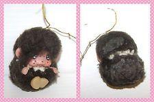 MONCICCI' 70s tiny monkey puppet brown - pupazzetto marrone piccolo