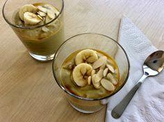 Banánovo-avokádový puding bez vaření Pudding, Desserts, Food, Tailgate Desserts, Deserts, Puddings, Meals, Dessert, Yemek