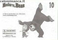 Masha and the bear - Masha e Orso: Retro Figurina n. 10 Riccio