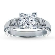 My engagment ring! I love it!!