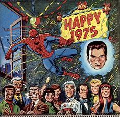 Fun Comics, Marvel Comics, Marvel Calendar, Stan Lee Spiderman, Best Comic Books, Comic Book Panels, Amazing Spiderman, Vintage Comics, Comic Covers